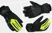 hunting wear - Men and women gloves winter outdoor lovers thick warm warm ski gloves anti slip wear sports riding Riding Cycling gloves