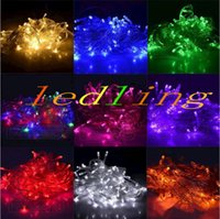 Wholesale led New Good Quality Christmas LED String Light colors M LED Xmas Led Christmas Wedding Party Decoration Lights V V