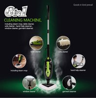 Wholesale DHL freeshipping Multi function Steam Mop Cleaning Machine Glass brush cleanerPatio Cleaner Kitchen Cabinet Cleaner Lav Cleaner Wall Cleaner