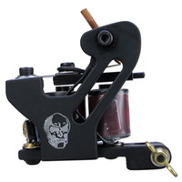 skull tattoo gun - Solong Tattoo Cheap Pro Handmade Coil Tattoo Machine Guns Black Skull Taty Machine M8716