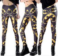 batman leggings - Hot Sale New Arrival Vintage Fashion Batman Logo Badge Digital Printing Sexy Leggings For Women hight quality