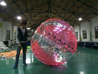 Wholesale high quality mm PVC m Air Bumper Ball Inflatable Body Grass Body Zorb Ball body zorbing bubble ball inflatable bumper