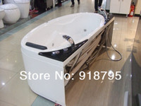 whirlpool massage bathtub - Fiber glass Acrylic whirlpool bathtub with massage and without massage function optional indoor spa RS6114