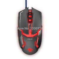armored games - E LUE Auroras Snake IM Version EMS602 Wired DPI Game Breathing Light Armored D Iron Man Gaming Mouse Gamer
