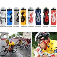 Wholesale Portable Plastic Outdoor ml Mountain Bike Bicycle Cycling Sports Water Bottle with Straw Lid