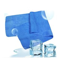 golf towel - DHL Free New cm Ice Cold Cool Cooling Sport Towel Scarf Reuseable Cycling Jogging Golf HiCT2015