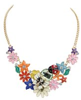 beetle jewelry - 2015 early autumn fashion women jewelry Retro drip Butterfly necklace fashion Beetle necklace