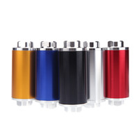 Wholesale Universal Car Fuel Filter Oil Filter with AN6 AN8 AN10 Adapter Fittings Black Fittings Red Silver Blue Black Golden K1409