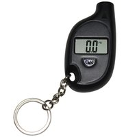 battery gauge high - High Quality Mini Portable Keychain Digital LCD Tire Tyre Wheel Air Pressure Gauge Tester For Car Auto Motorcycle Battery PSI KPA BAR