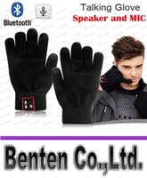 Wholesale Bluetooth Gloves Talking Gloves Touch Screen Gloves For Cell Phones Moblie Phones Hands Free Touch Function LLFA4894F