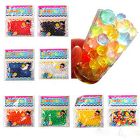 Wholesale New Bags Crystal Mud Soil Water Beads Bio Gel Ball For Flower Weeding Deraction