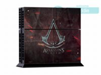 assassins creed stickers - Skin Sticker for Sony Playstation Console System For PS4 Dualshock Controller Assassins Creed Version