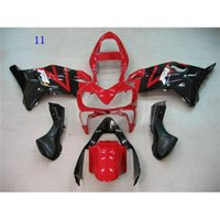 Wholesale ABS Fairing Set For HONDA CBR600 F4I Injection Motorcycle Cowling Aftermarket Motorbike Body Work Red Black Multicolo