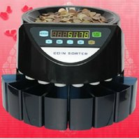 Wholesale Custom made Electronic coin counter coin sorter coin counting machine for most countries coins except Canada Turkey United States Russia