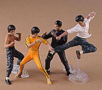 action kung fu - Bruce Lee Figures Toys Bruce Lee Action Figures Kung Fu Collection Toys Set Juguetes MASTER LEGEND RK75445
