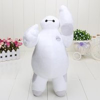 8-11 Years new toys for christmas - Retail New Big Hero Baymax Robot Hands Moveable Stuffed Plush Animals Toys inch cm Christmas Gfit for kids