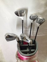 Wholesale Complete set Golf clubs Rocketballez Stage driver Fairway woods Rbladez Golf irons PAS Come headcover