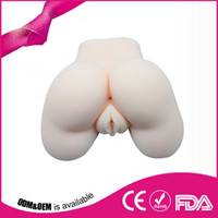 sexy pussy - Top quality Silicone Sexy Black Ass Real Love Vagina Anal Masturbator Sex Doll realistic silicone ass and vagina pussy ass sex