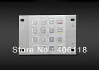atm metal - Metal keypad Metal ATM keypad