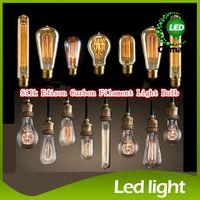Globe incandescent bulb - Fashion Incandescent Vintage Light Bulb Edison Bulb Fixture E27 Bulbs V V W Bulb Lights Antique Bulbs Edison Antique Lamps
