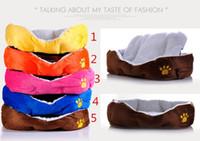 Wholesale 2015 Cashmere like soft warm Pet Cat Bed Pet Nest luxury Dog nest Luxury warm round