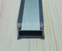 bar counter styles - LED aluminum channel profile slot Shell with U Style for Strip Bar Light jewelry counter X