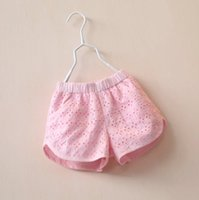baby fancy pants - NEW ARRIVAL Beautiful fancy baby girl kids lace shorts lace short pants hollow pants crochet embroidery princess cotton summer outfits