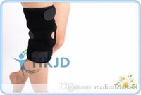 Wholesale Black Color Adjustable Knee Brace arthritis With Silicone Patellar Pain Relief Gym Sport