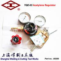 acetylene pressure regulator - YQE Acetylene pressure reducer gas cylinder pressure reducing valve acetylene gas regulator