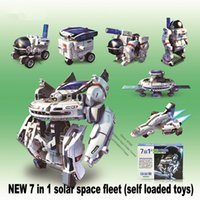 assembly load - Spot quality plastic NEW in solar space fleet self loaded toys Hands on assembly Children s educational DIY toys gift