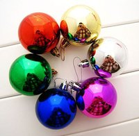 Wholesale New Year Christmas Balls Christmas Tree Decoration Ornament gift Hanging Ball with X20