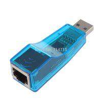 Wholesale 1 USB Network Adapter Lan RJ45 Card Mbps Ethernet YKS