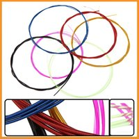 alice colorful guitar strings - Colorful Alice A107C set Guitar Strings Nylon Core Coated Copper Alloy Wound Guitar Accessories Sets