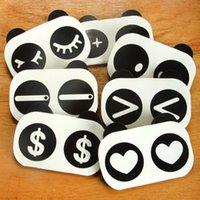 Wholesale Stationery Korea stationery cute little panda shape the accounting books of the cartoon notes Money