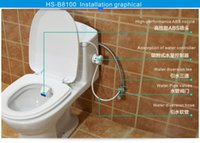 Wholesale Bidet Hot Sell Portable Micro closestool Bidet Wash Away cute bidet