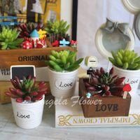 bell pepper flowers - 1PCS Artificial fleshiness bell pepper Cactus Succulent plant bonsai landscape PU decorative flower home decoration