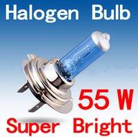 Wholesale 2pcs H7 Super Bright White Fog Halogen Bulb W Car Head Light Lamp W V2 Parking Car Light Source