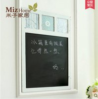 Wholesale Miz Home Lapland Series Simple Modern Wood Small Blackboard Decor for Home Note for Home