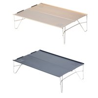 Wholesale Outdoor Tables Portable Lightweight Compact Folding Table Aluminum Foldable Table for Outdoor Picnic Camping