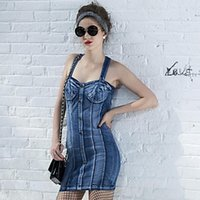 krazy dresses - Wayth Krazy Women s Bodycon Vintage Sexy Denim Dress