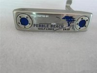 Wholesale California Pebble Beach Putter Golf Clubs Hand Crafted Golf Putter quot quot quot R S Flex Steel Shaft With Head Cover