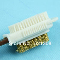 Wholesale 1PC C Shape Side Shoe Cleaning Brush Suede Nubuck Boot Shoes Cleaner