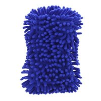 Wholesale 200pcs Microfiber Snow Neil fiber high density car wash mitt car wash gloves towel