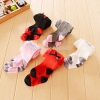Wholesale Cute baby girl s Cotton leggings children s leggings new born baby stocking Cotton toddler s tights babies pp