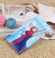 Wholesale Cikou cartoon princess children purse CM CM CM PU fold wallet printing Girl Purse H