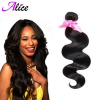 alice products - Top Fashion Brazilian Virgin Hair Brazilian Body Wave Virgin Hair Alice Queen Hair Products Unprocessed Human Extension Weave b