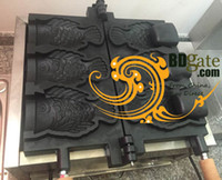 Wholesale Commercial Use Non stick v v Electric Bungeoppang Fish Ice Cream Taiyaki Maker Machine Baker Iron