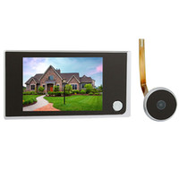 Wholesale 3 quot Digital LCD Door Viewer Megapixel Camera Video Peephole Monitor F4344A