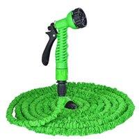 Wholesale Hot FT natural latex water garden watering three times the natural magic magic retractable hose pipes