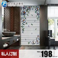 Wholesale Amalfi platinum mosaic mosaic puzzle cut painting the living room entrance backdrop mirror tile BJ099 JH74